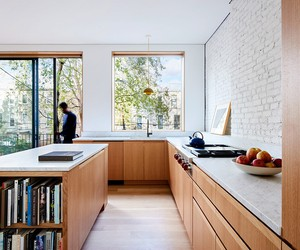 L/AND/A Renovates Brooklyn Row House