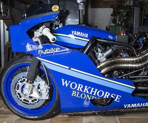 Workhorse Speed Shop XSR700 Custom Dragster
