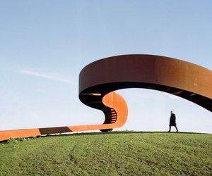 Möbius Strip inspired Staircase by NEXT Architects