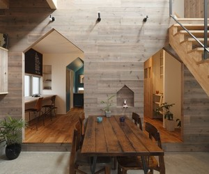 Hazukashi House in Kyoto by Alts Design Office