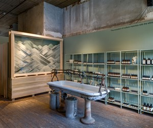Aesop pop-up shop at The Invisible Dog Art Gallery
