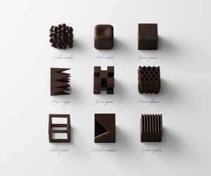 Nendo's Limited Edition Chocolate Sets