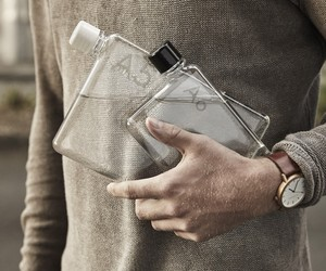 memobottle, Paper-Shaped Reusable Water Bottles