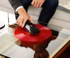 Yves Béhar Unveils First LOVE Smart Turntable