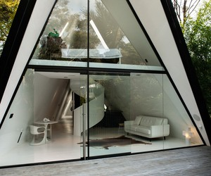 The Tent House in New Zeland by Chris Tate