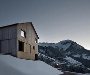 Haus Fontanella // Bernardo Bader Architects