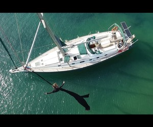 SUCH BEAUTY: AERIAL DANCE OVER SANTORINI ISLAND
