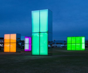 """Reflection Field"" installation by Phillip K. Smit"