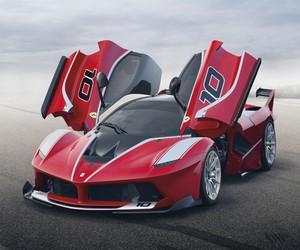 Ferrari unveils the 1035 HP Ferrari FXX K