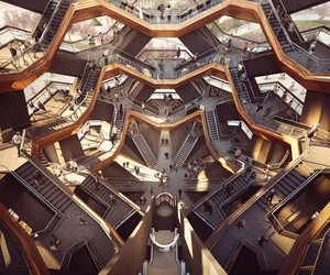 Thomas Heatherwick's Vessel for New York's Hudson