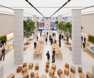 Foster + Partners re-imagines Apple Regent Street