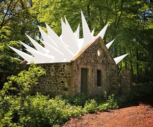 Installation by Steve Messam at Mellerstain