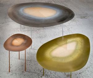 UUfie Blends Metal and Wood In Echo Table Series