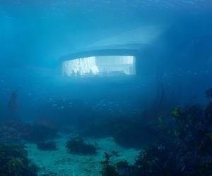 Europe's First Underwater Restaurant by Snøhetta