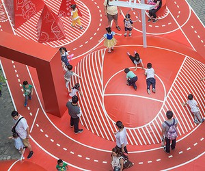 100architects' Red Planet Playground In Shanghai