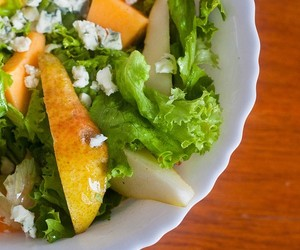 Late Summer Pear and Melon Salad
