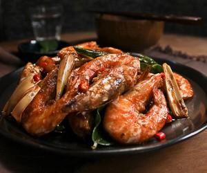 Thai Tom Yum Prawns Recipe