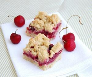 Cherry almond bars