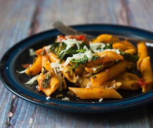 Penne with Broccoli Rabe and Pancetta