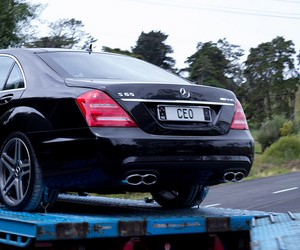 MegaUpload Have Their Luxurious Cars Seized