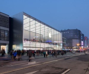 New Apple Store in Hangzhou by Foster + Partners