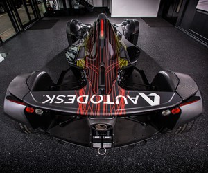 BAC and Autodesk Unveils Mono Art Car at Goodwood