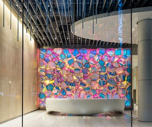 SOFTlab creates a Geode Shaped Installation in New