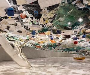 Tadashi Kawamata's Over Flow Exhibit at MAAT