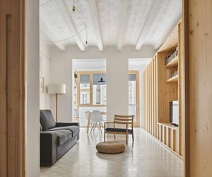 Huguet Apartment, Barcelona Spain / TEd'A