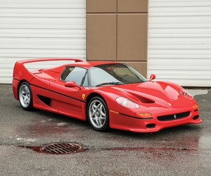 Mike Tyson's 1995 Ferrari F50 Goes Up To Auction