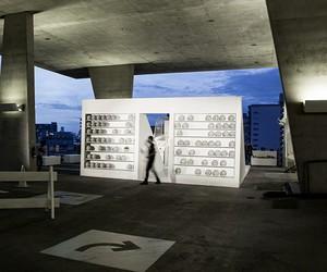 Airball Interactive Installation at Art Basel