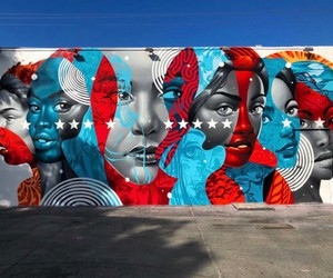 """American Power"" – Mural by Tristan Eaton in Miami"