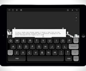 Tom Hanks Typewriter iPad App