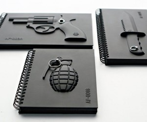 Armed Notebooks, Gun