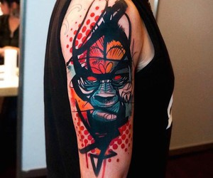 Vibrant Tattoos by Greek Travelling Artist Dynoz