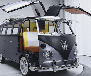 """""""Back to the Future"""" inspired 1967 VW Bus"""