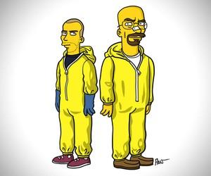 The Simpsons Breaking Bad Mashup
