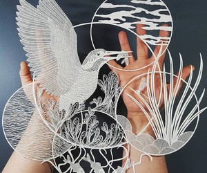 """Biophilia"" - Paper Art by Pippa Dyrlaga"