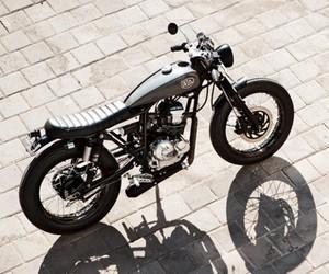 Cafe Scorpio Motorcycle by Deus Bali
