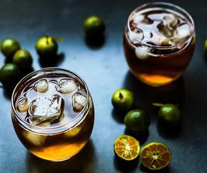 Honey Calamansi Iced Tea