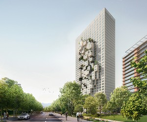 MVRDV Designs Albania's Tallest Building