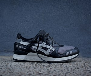 Asics Gel Lyte III Black/Grey/Silver by KITH NYC