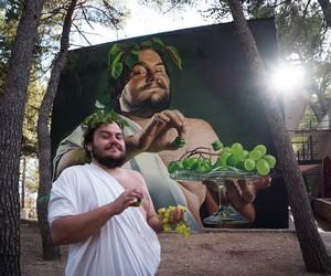 """God of Hedonism & Street Art"" by LONAC"