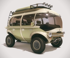 Electric All Terrain Microbus