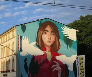 """Evasion"" - Mural by Artist Sabek in Hamburg"