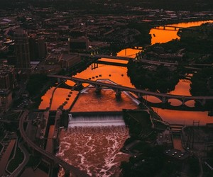 Minneapolis Captured from Above by Van Styles