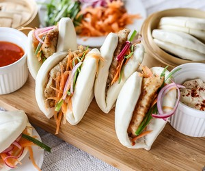 Fried Fish Gua Bao