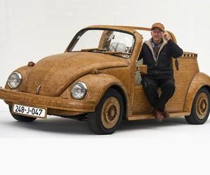 Great Wooden VW Beetle