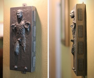 Carbonite Han Solo Light Switch