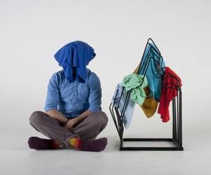 Berg clothes rack by Arash Eskafi